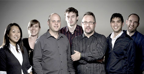 The Industrial Brand team circa 2009.
