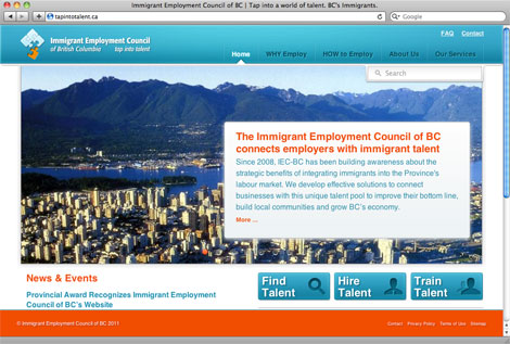 IEC BC Website Welcome BC Day Award